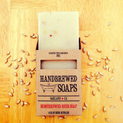 Homebrewed Spiced Ale Beer Soap
