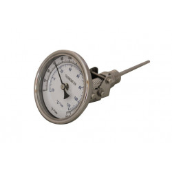 "3"" Glass Dial Thermometer..."