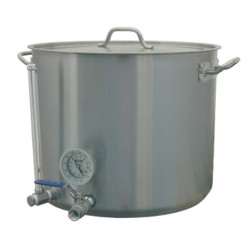 Stainless Hot Liquor Tank