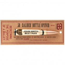 Brass .50 Caliber Bottle...
