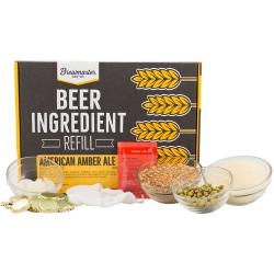 American Amber Beer Brewing...