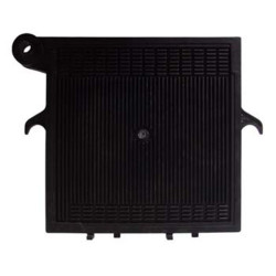 40x40 cm End Plate - Noryl