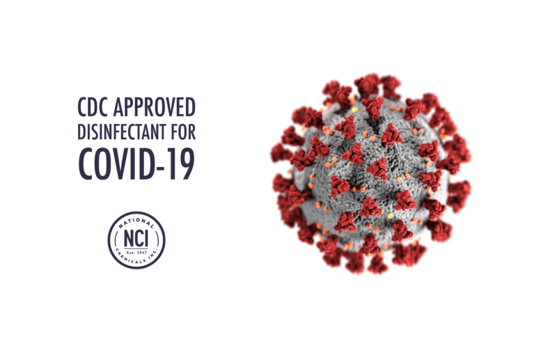 CDC Approved COVID-19 Disinfectant
